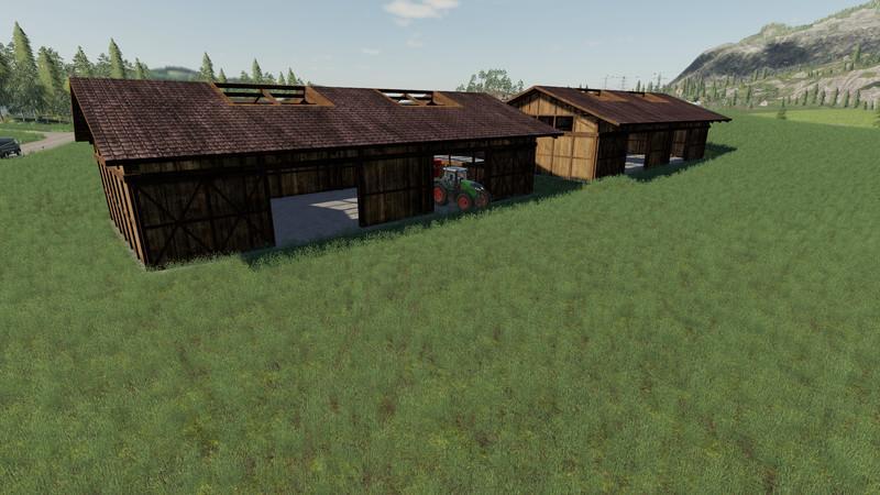 FS15 halls v1 0 0 0 FS19 - Farming Simulator 19 Mod   FS19 mod