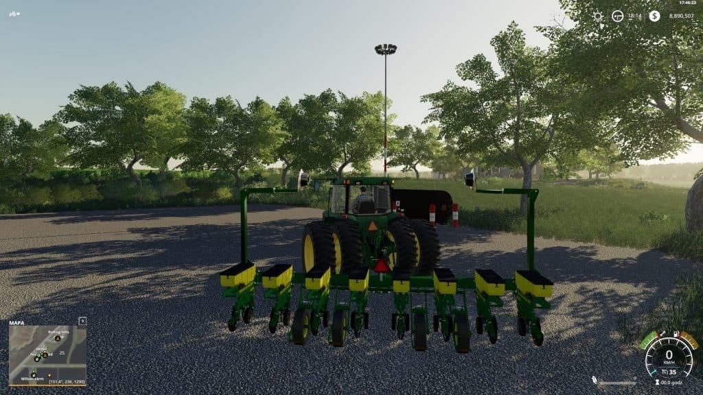 John Deere 1760 8 Row Front Fold Planter V1 0 FS19 - Farming