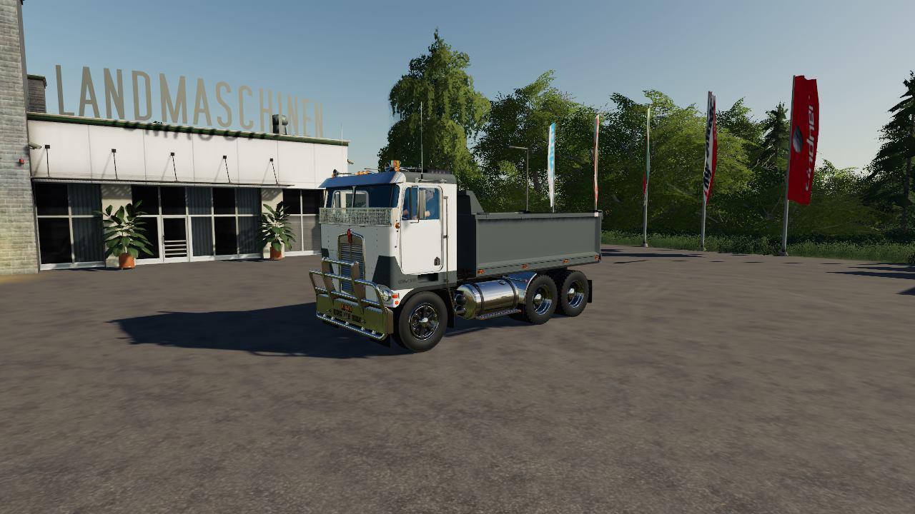 Kenworth K100-K123 v1.0 FS19 - Farming Simulator 19 Mod ...Kenworth Dump Trucks Fs19