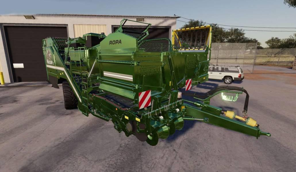 Ropa Keiler 2 v 1 0 FS19 - Farming Simulator 19 Mod   FS19 mod