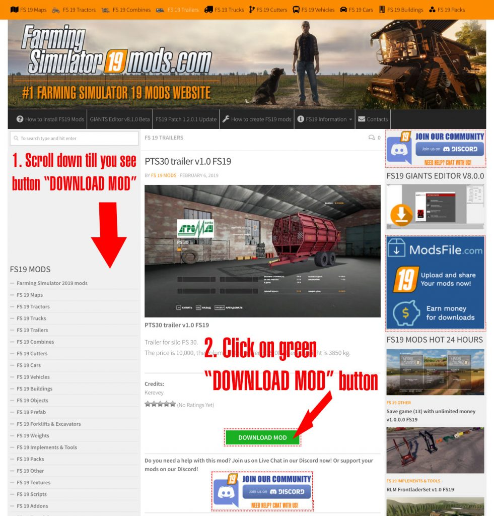How to download Farming Simulator 19 mods? - Farming Simulator 2019