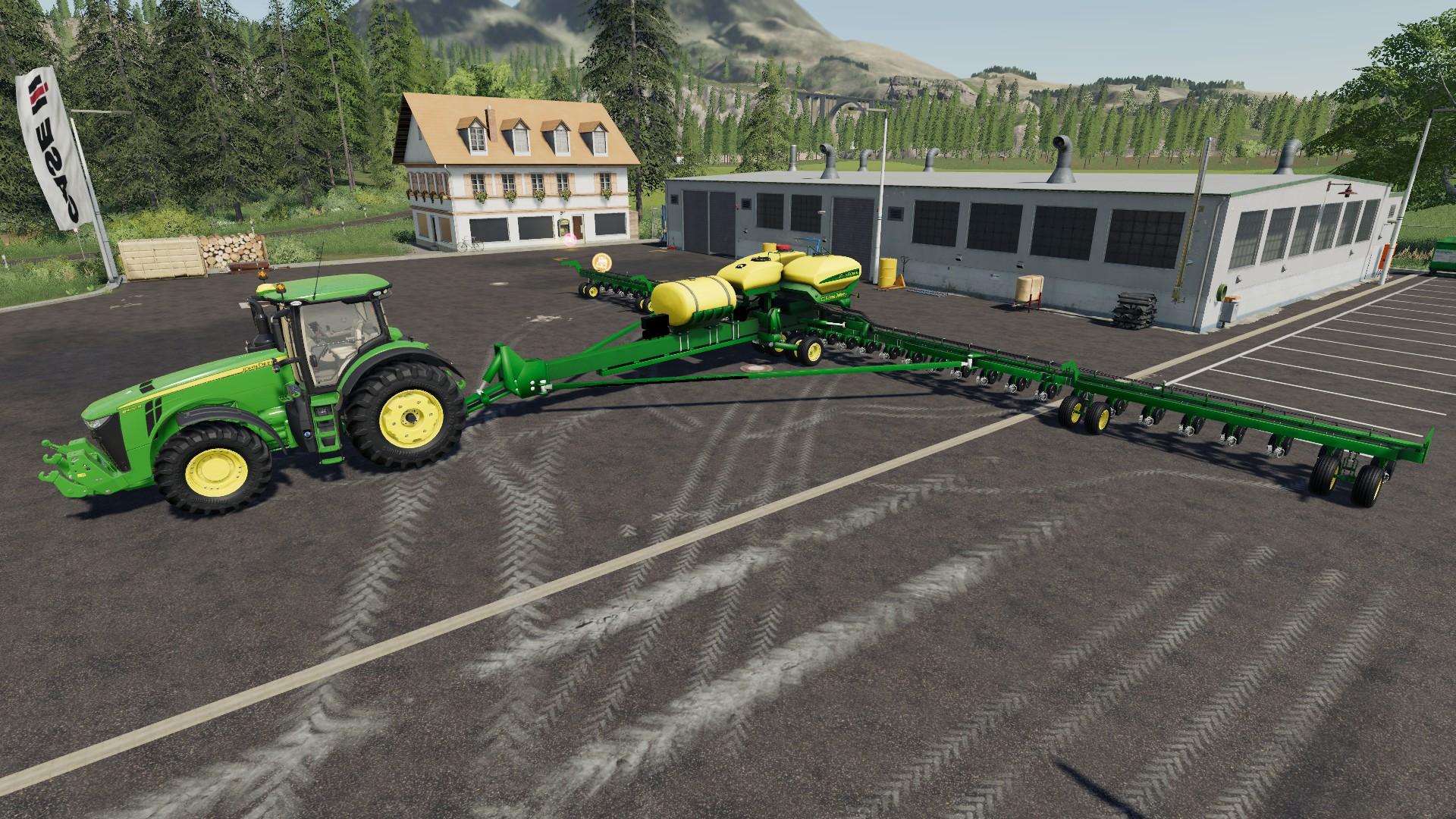 John Deere DB90 27M V1 2 FS19 - Farming Simulator 19 Mod