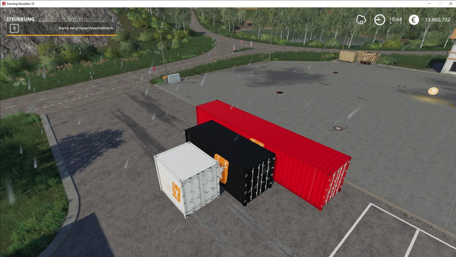 ATC Container Pack v1 1 0 0 FS19 - Farming Simulator 19 Mod | FS19 mod