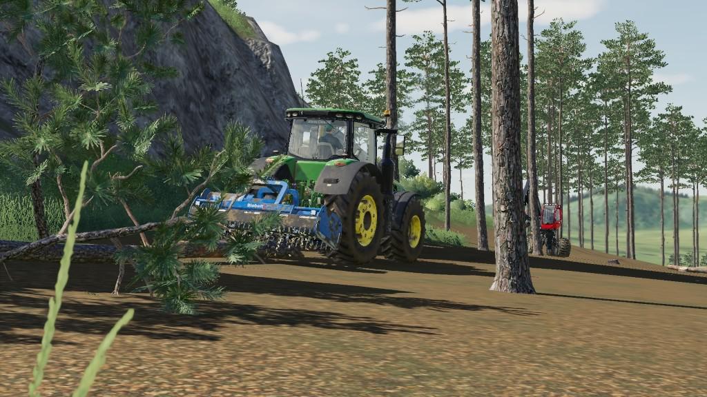 Biobeltz UM 300 Forestry Mulcher v1 0 FS19 - Farming