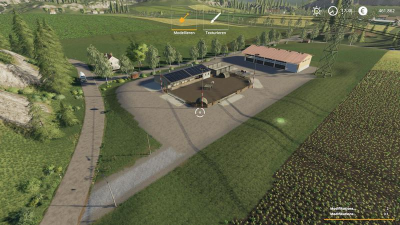 Feldbrunn conversion with stables v1 2 FS19 - Farming