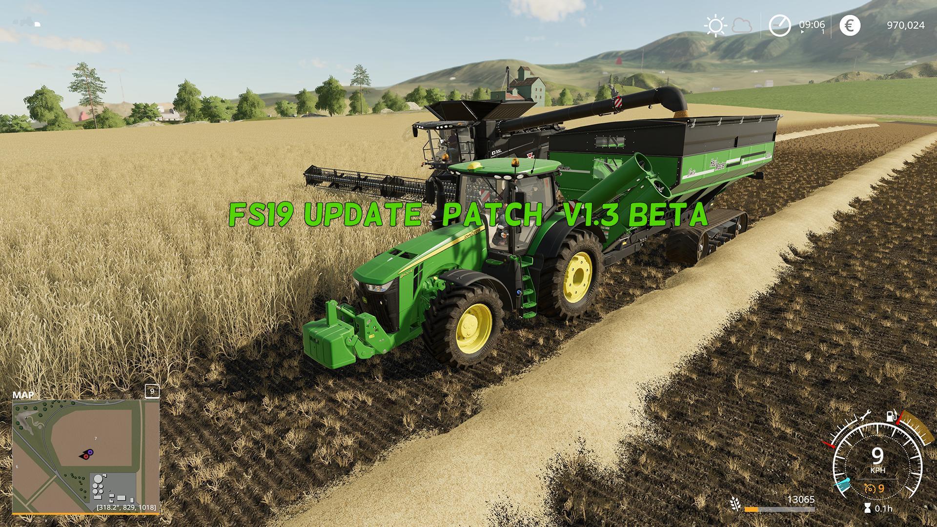 Farming Simulator 19 Update (patch) V1 3 Beta - Farming Simulator 19