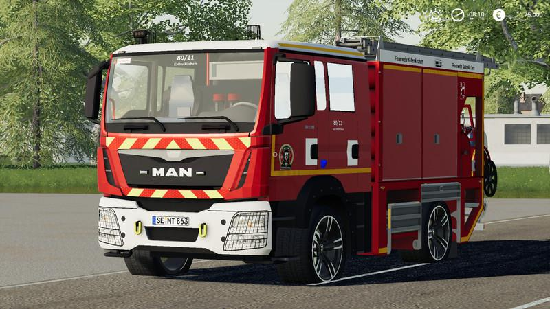 Iveco Daily (Kaltenkirchen Fire Department) v2 0 FS19