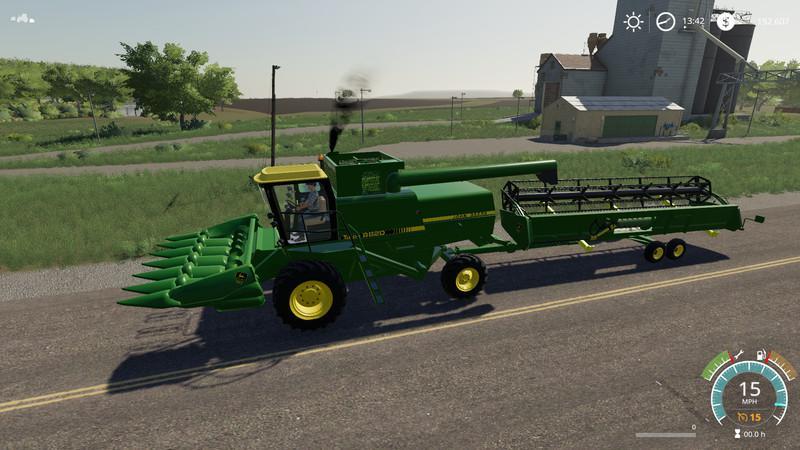 John Deere 8820 Turbo v1 0 FS19 - Farming Simulator 19 Mod