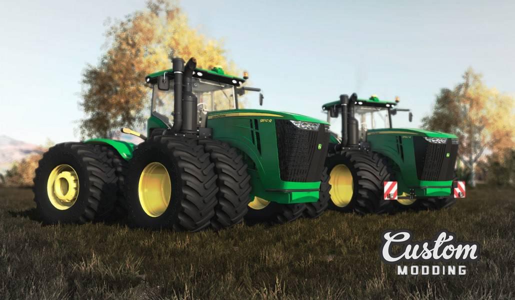 John Deere 9R Series 2014 V3 0 FS19 - Farming Simulator 19