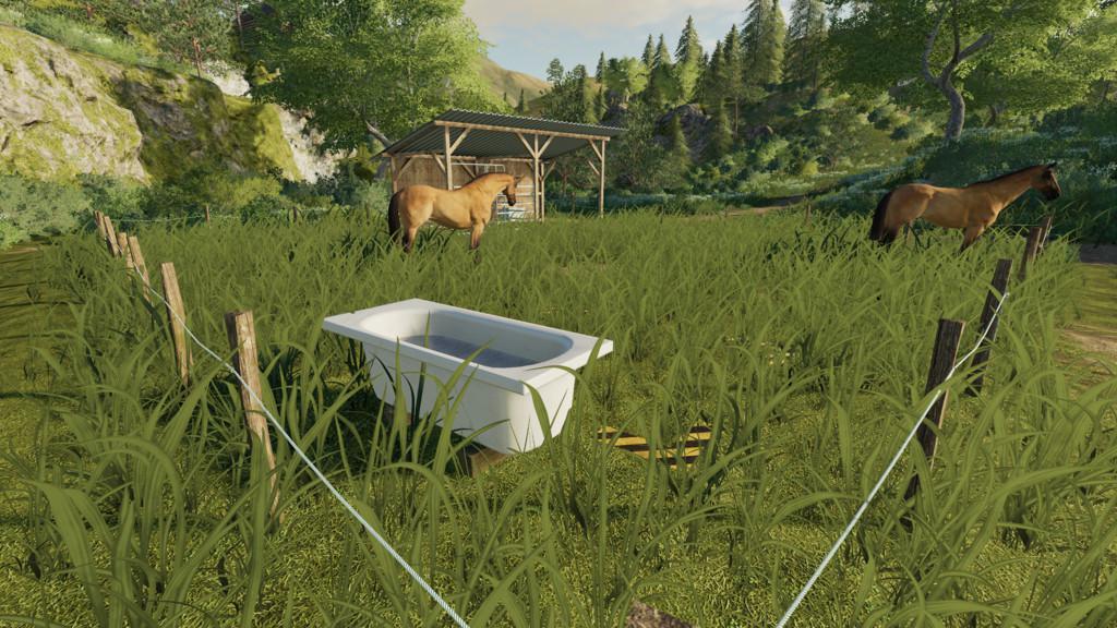 Kleine Pferdeweide v1 0 FS19 - Farming Simulator 19 Mod | FS19 mod