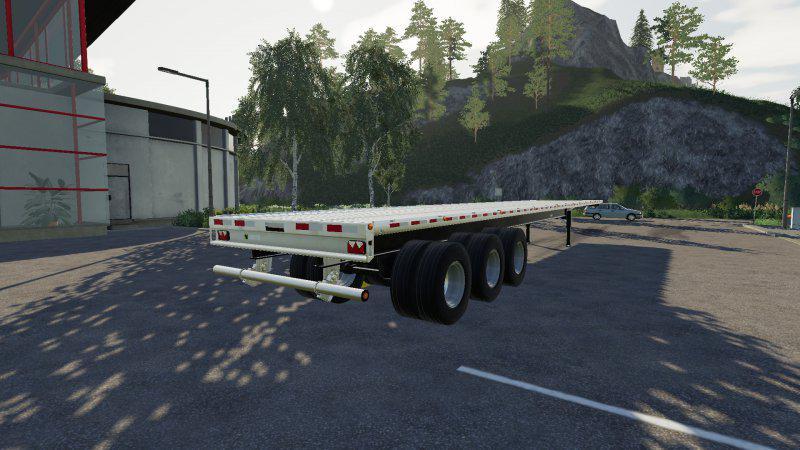 Lizard 51ft Autoloader v1 0 0 0 FS19 - Farming Simulator 19