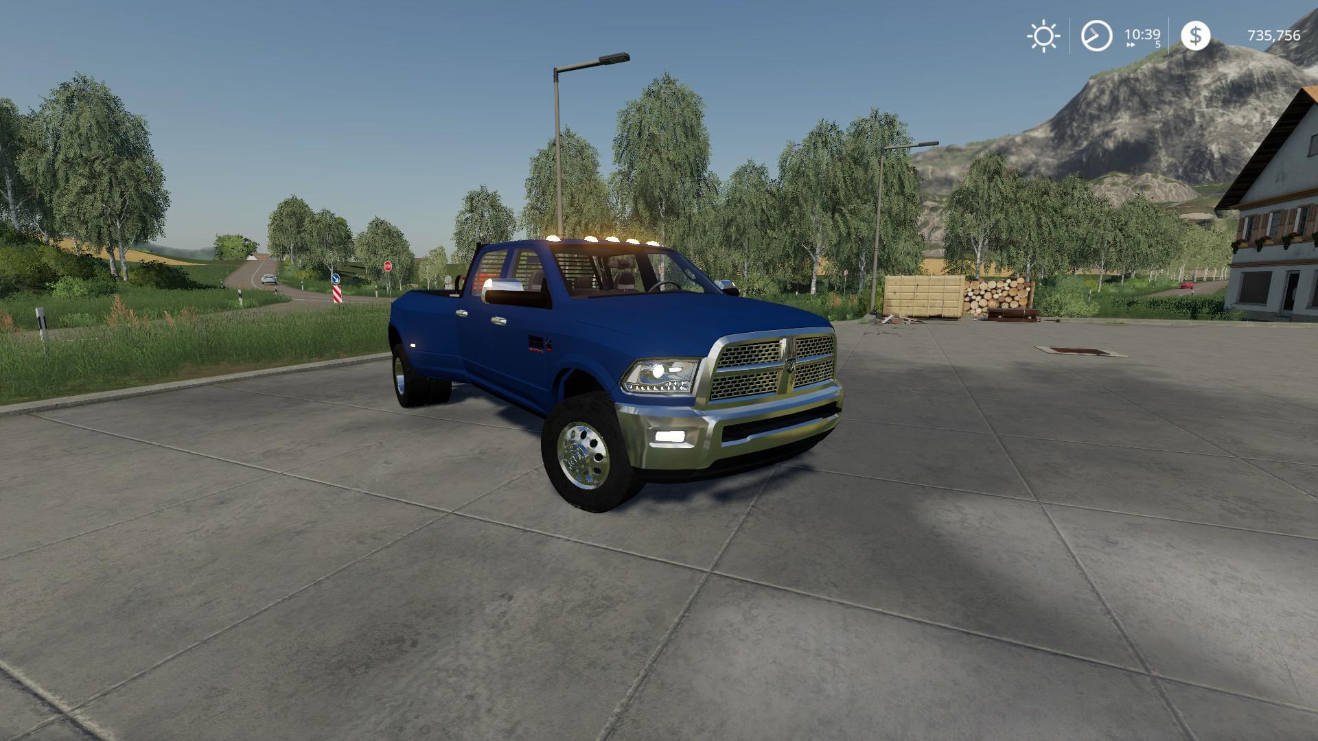 Ram 3500 Dually V2 0 Fs19 Farming Simulator 19 Mod Fs19 Mod