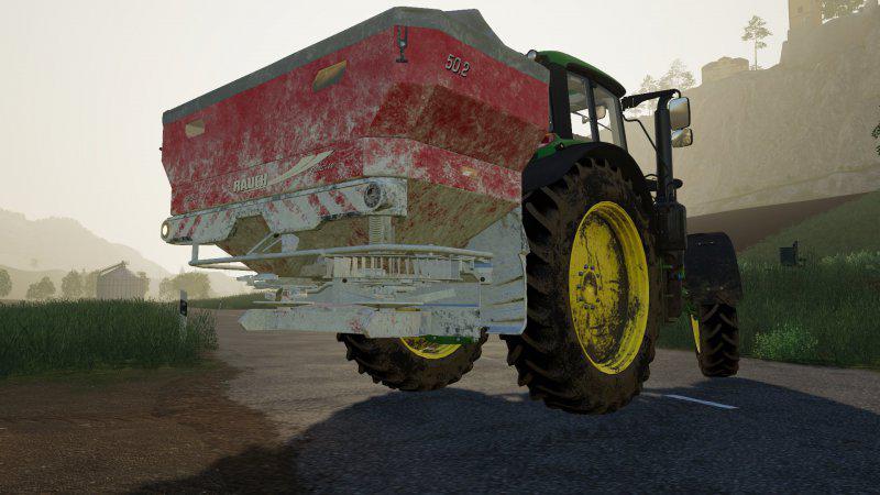 John Deere 568 Baler v1 2 FS19 - Farming Simulator 19 Mod