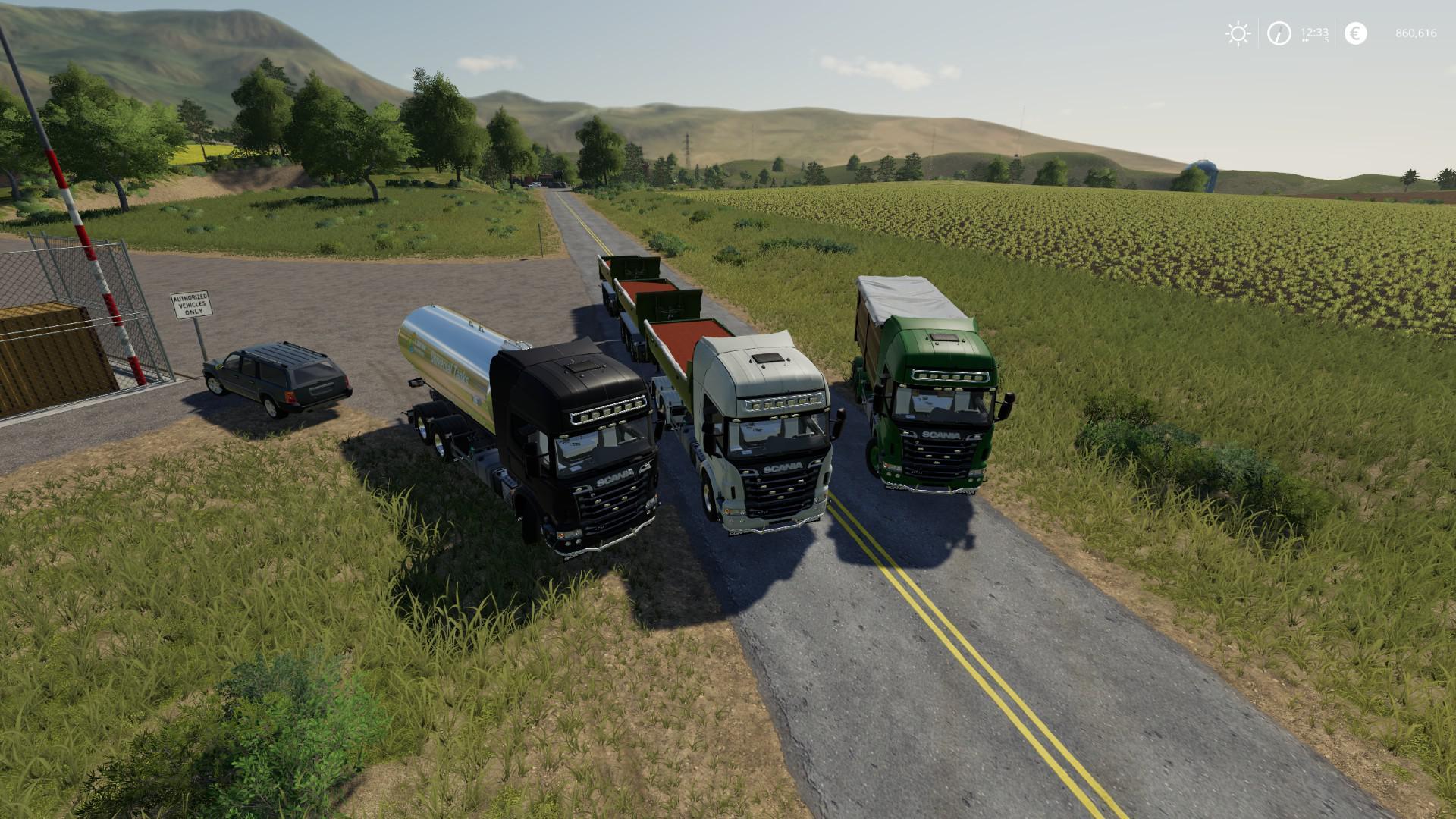 Scania R730 Hooklift V1 0 Fs19