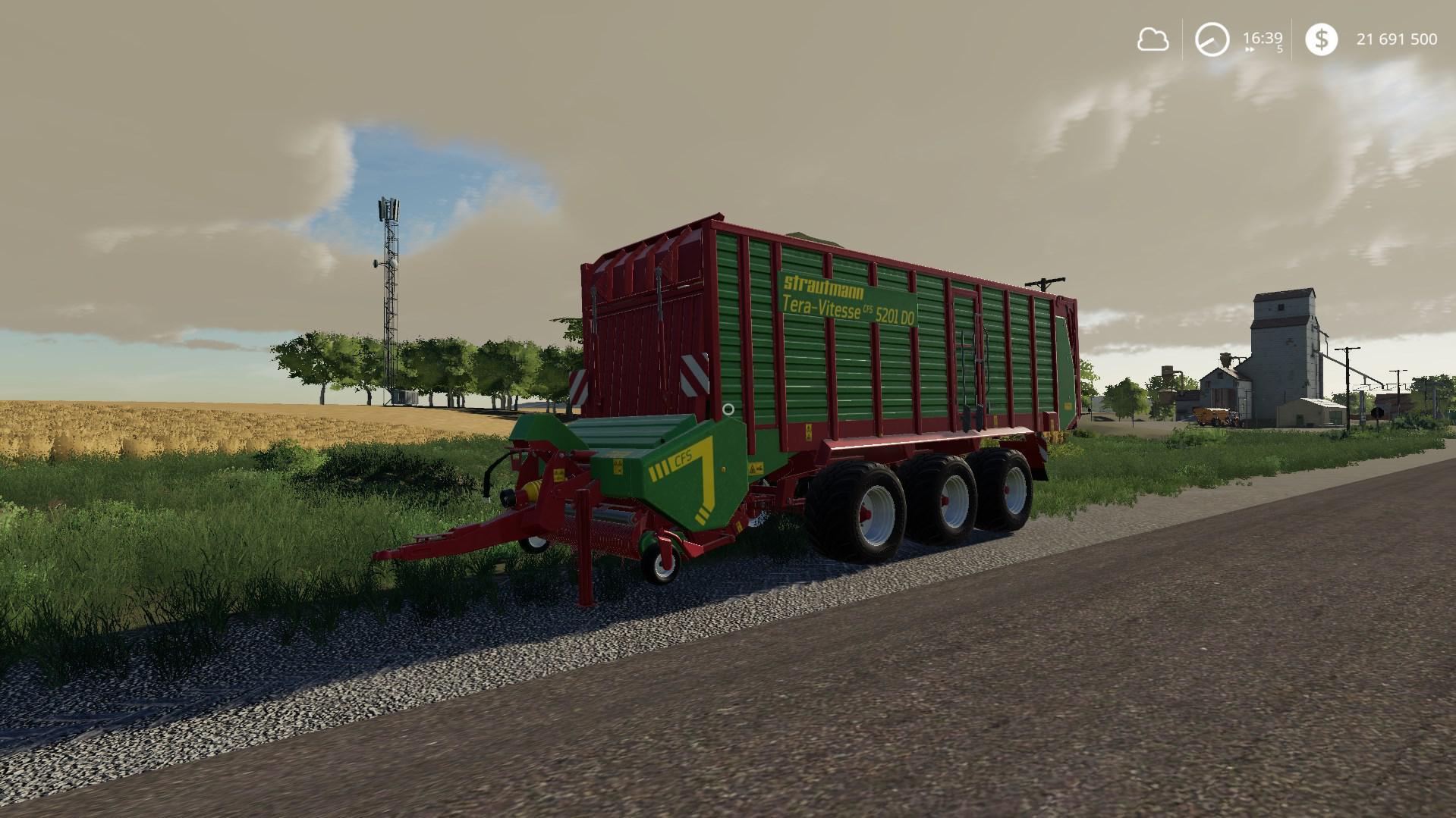 Strautmann Tera-Vitesse CFS 5201 DO Bugfix v1 0 3 0 FS19