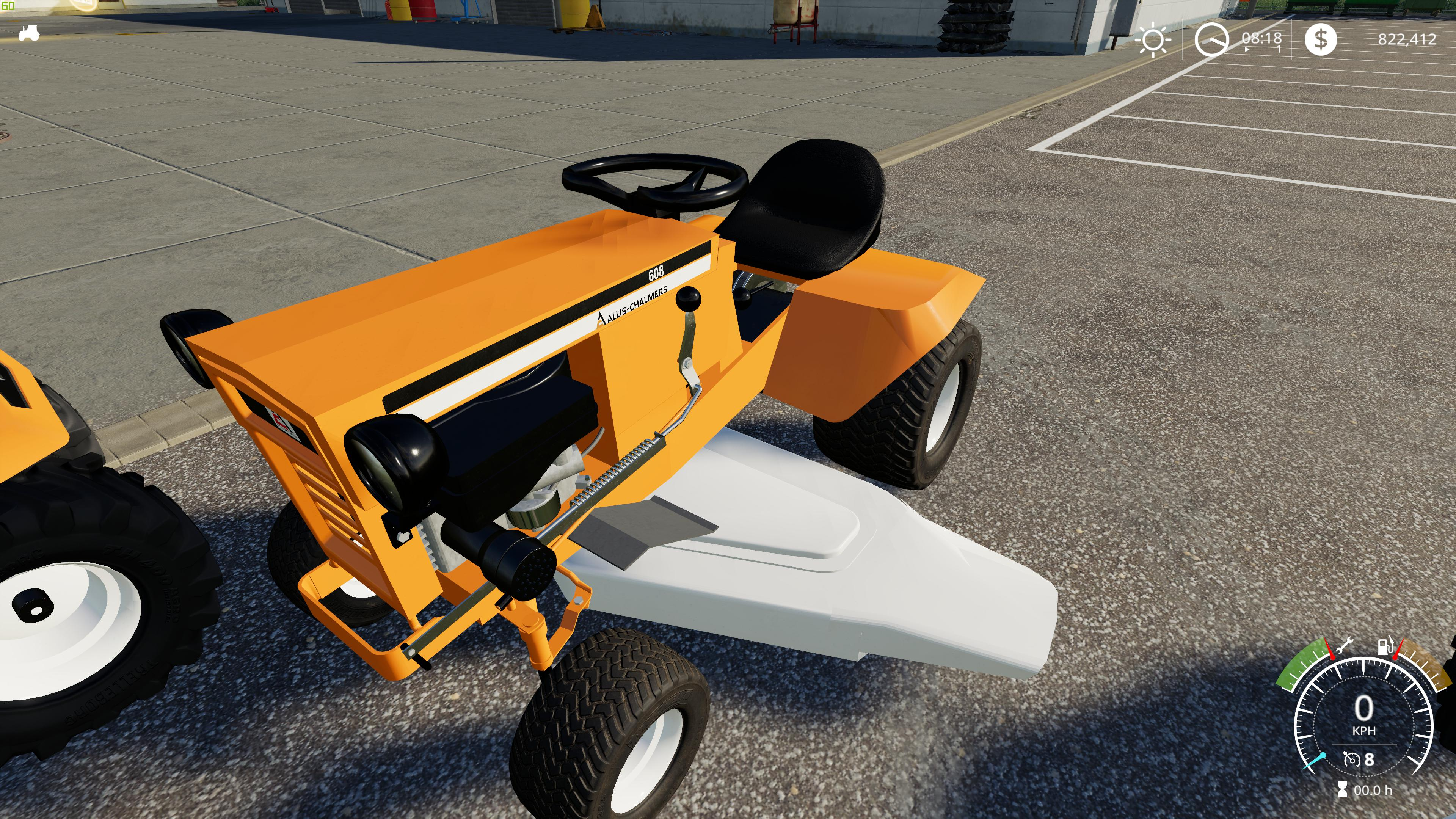 1974 Allis Chalmers 608 v1 0 0 0 FS19 - Farming Simulator 19