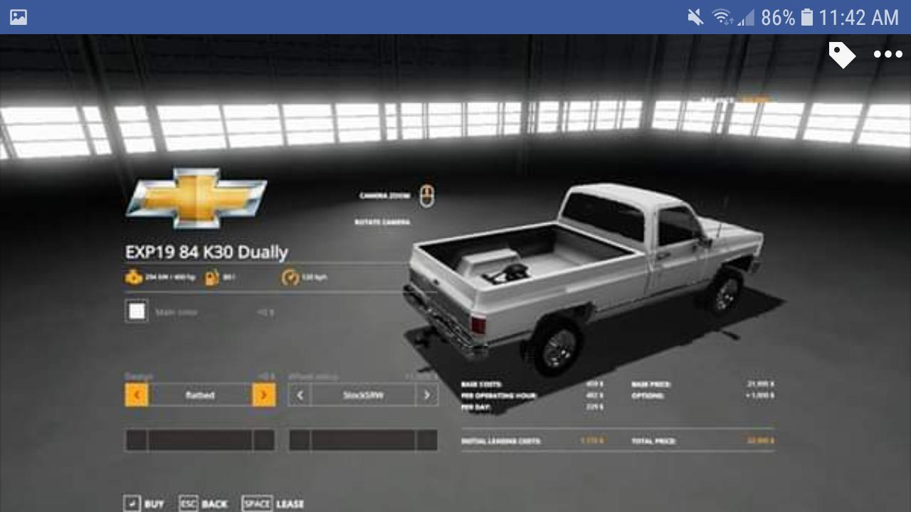 1984 Chevrolet k30 v1 0 FS19 - Farming Simulator 19 Mod | FS19 mod