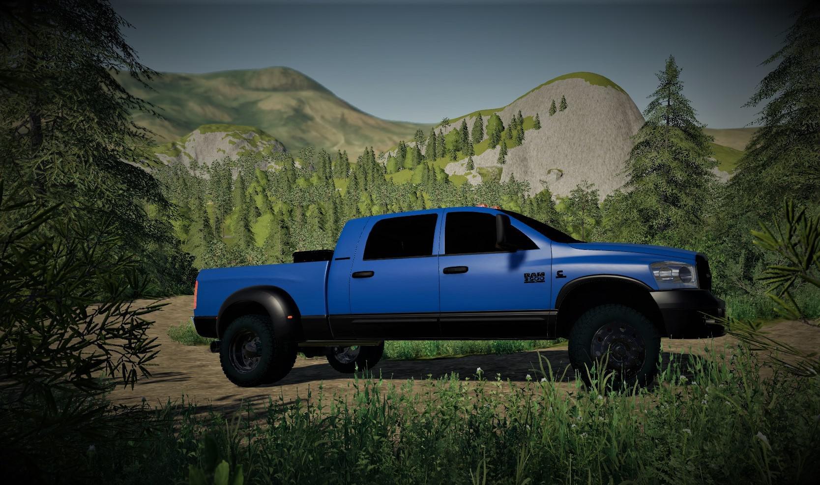 2007 Dodge 3500 Mega Cab V1 0 Fs19 Farming Simulator 19 Mod Fs19 Mod
