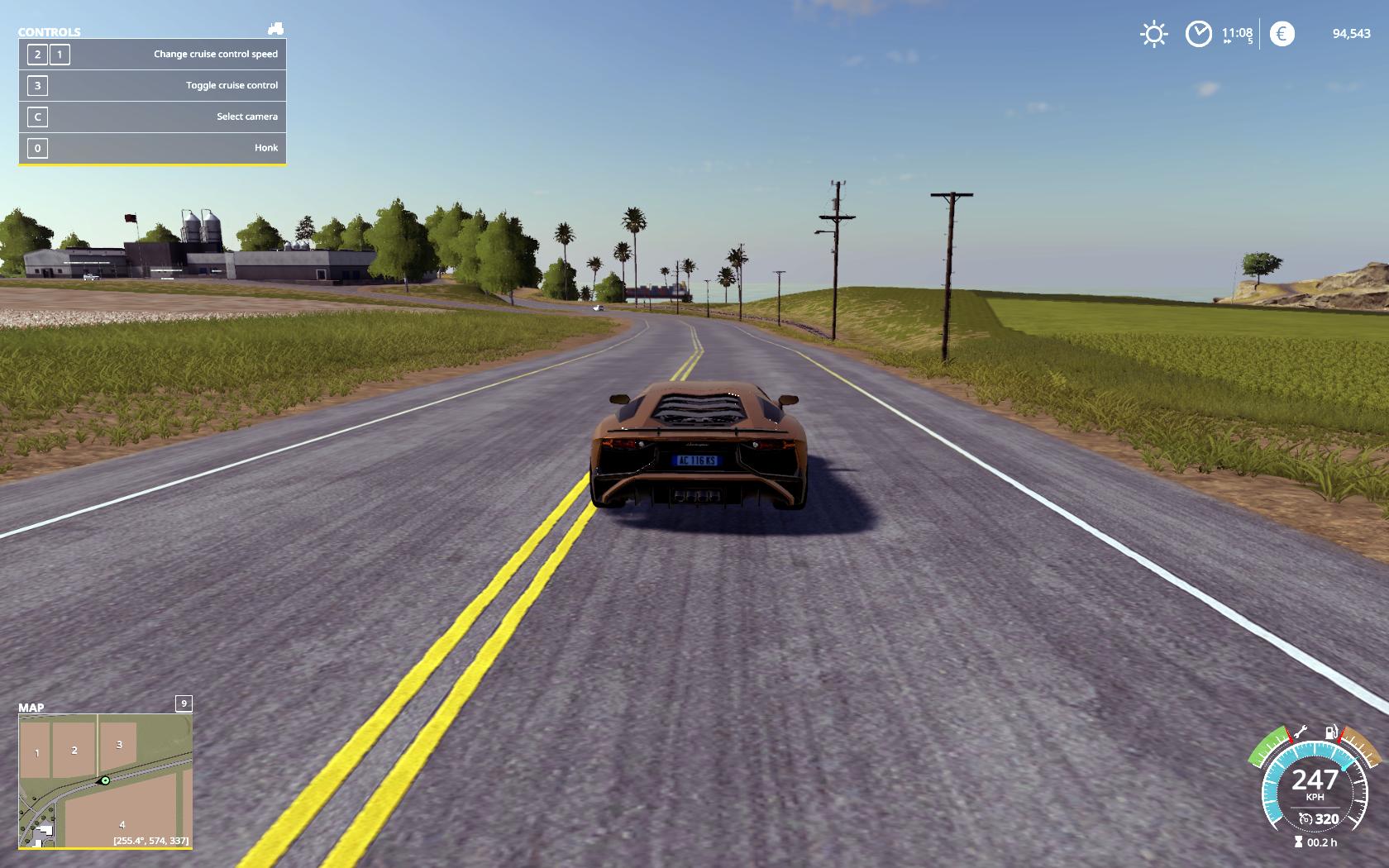Lamborghini Aventador LP750-4 SV V 1 0 FS19 - Farming Simulator 19