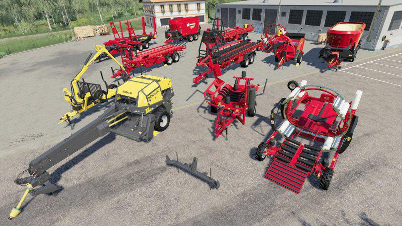 Anderson Group Equipment Pack v1 0 FS19 - Farming Simulator