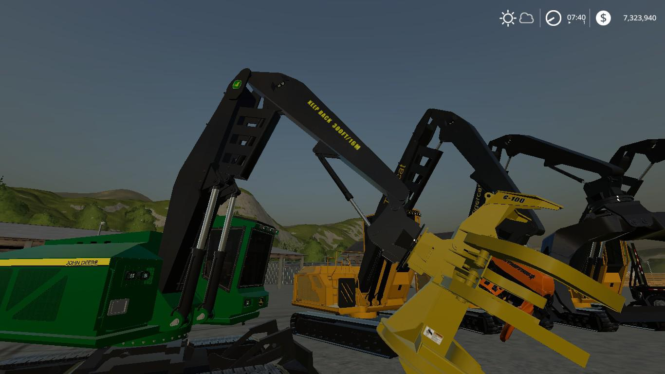 Complete FDR Logging Equipment pack V4 0 0 FS19 - Farming