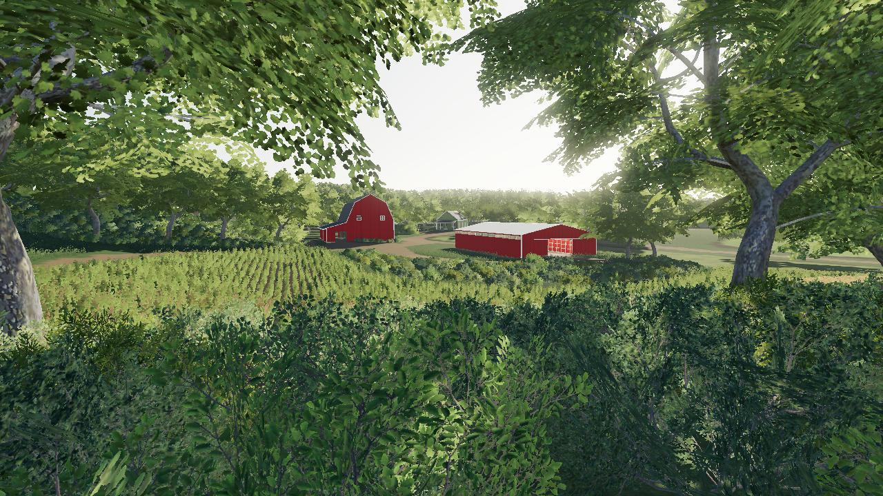 farm in the woods v1 0 fs19 farming simulator 19 mod. Black Bedroom Furniture Sets. Home Design Ideas