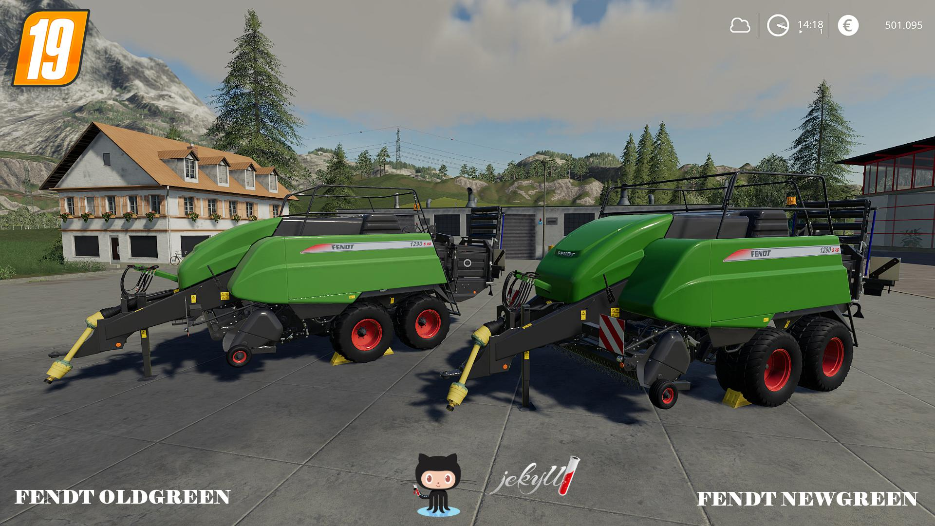 Fendt 1290S XD v1 0 FS19 - Farming Simulator 19 Mod   FS19 mod
