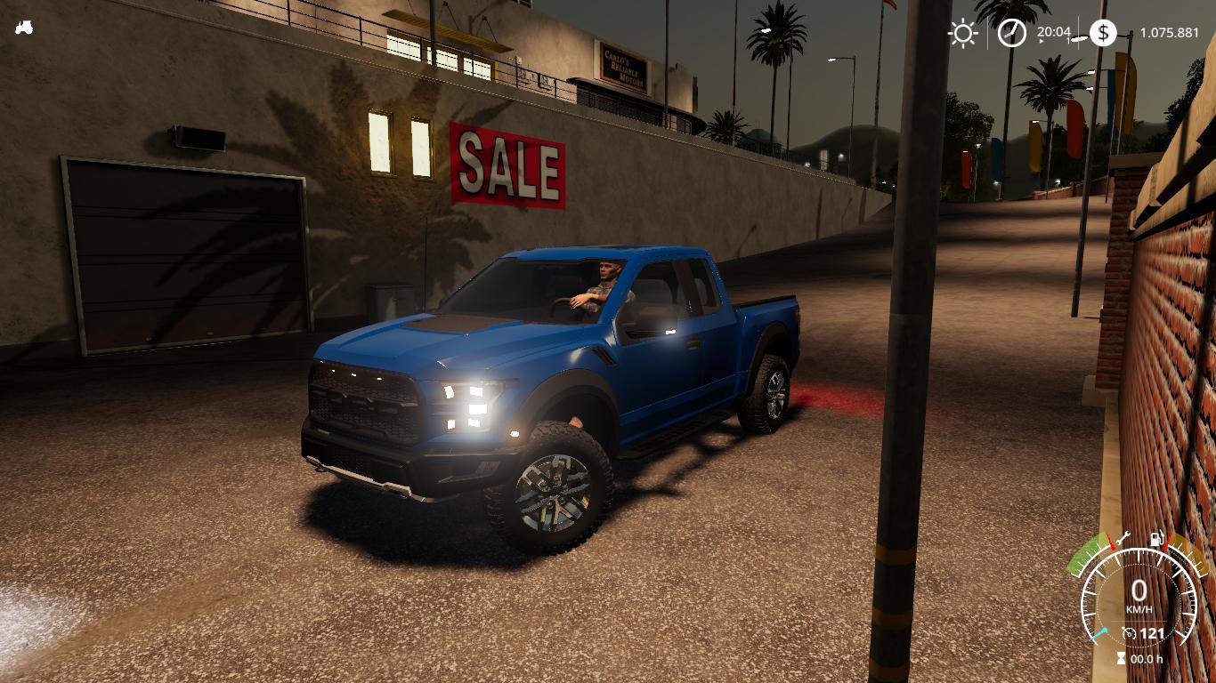 Ford Raptor 2017 BETA v1 0 FS19 - Farming Simulator 19 Mod