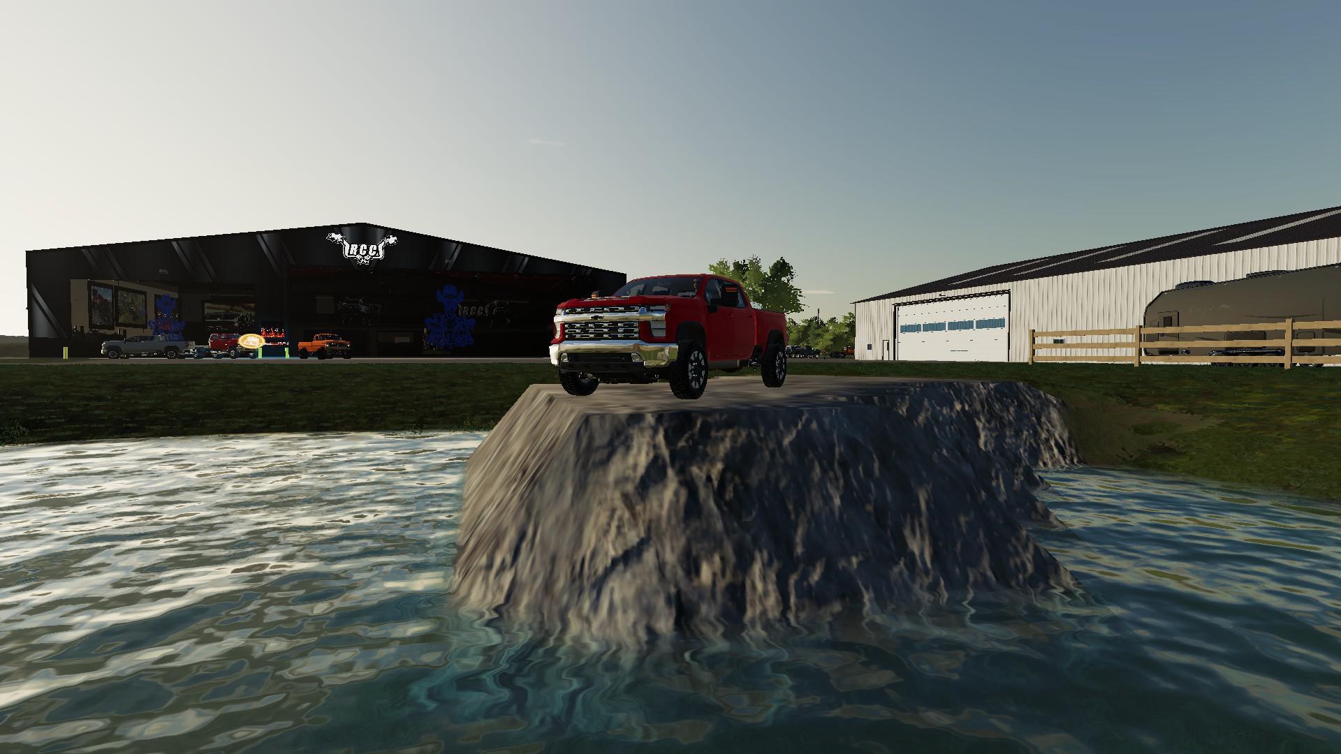 2020 Chevy Silverado 2500HD Duramax v1 0 FS19 - Farming Simulator 19