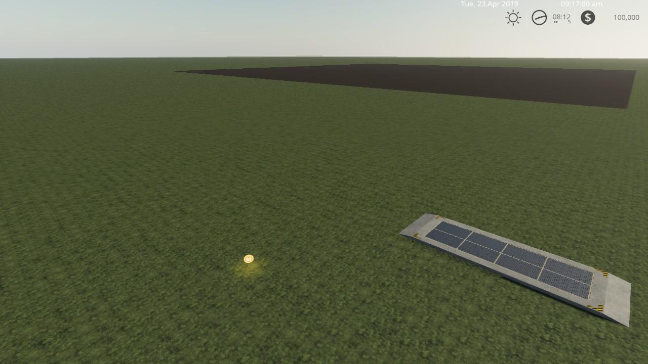 Blank Starter map multi fruit 4x v1 0 FS19 - Farming Simulator 19
