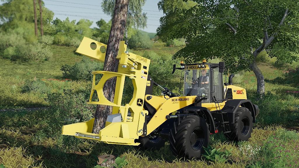 Feller Buncher John Deere FD45 v1 0 0 0 FS19 - Farming