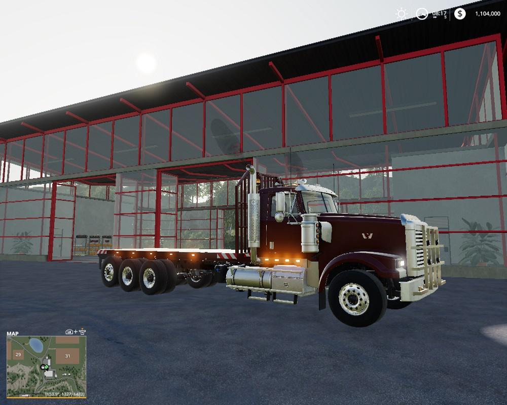 Hulk Flatbed v1 0 0 0 FS19 - Farming Simulator 19 Mod | FS19 mod