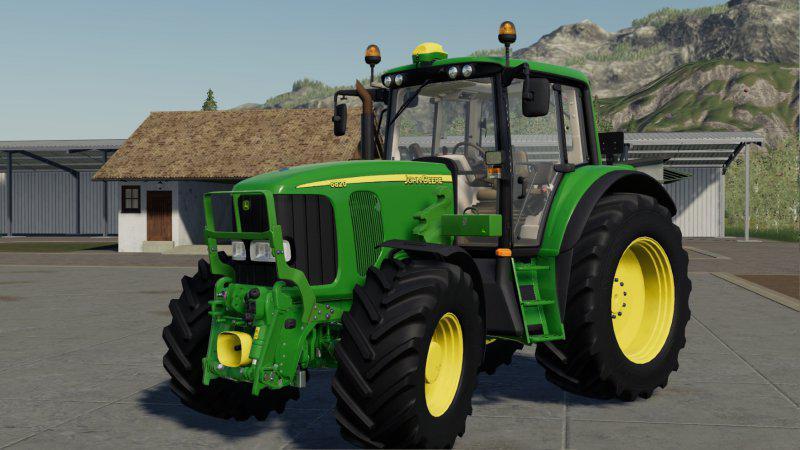 John Deere 6920 S V1 0 0 0 Fs19 Farming Simulator 19 Mod