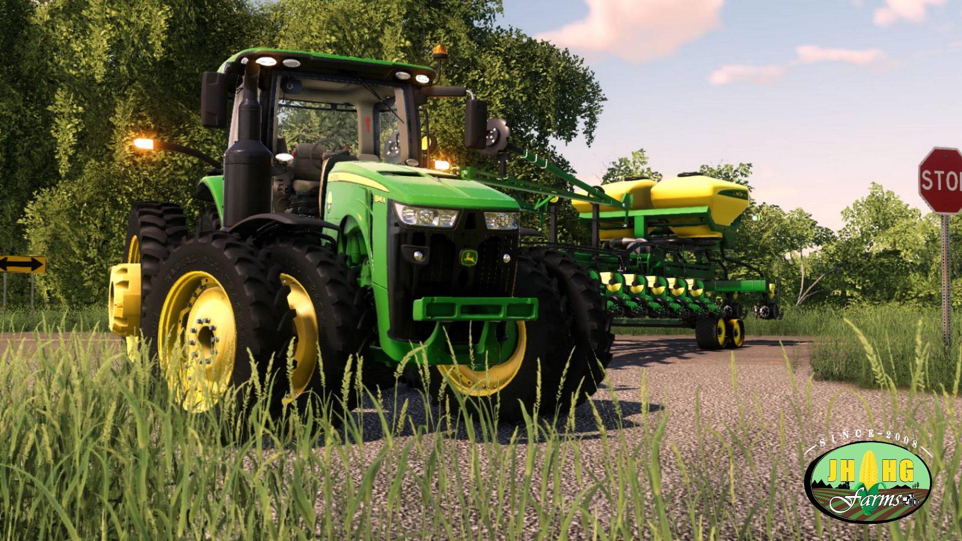 ad3e15f07e John Deere 8R US Series 2018 v3.0 FS19 - Farming Simulator 19 Mod ...