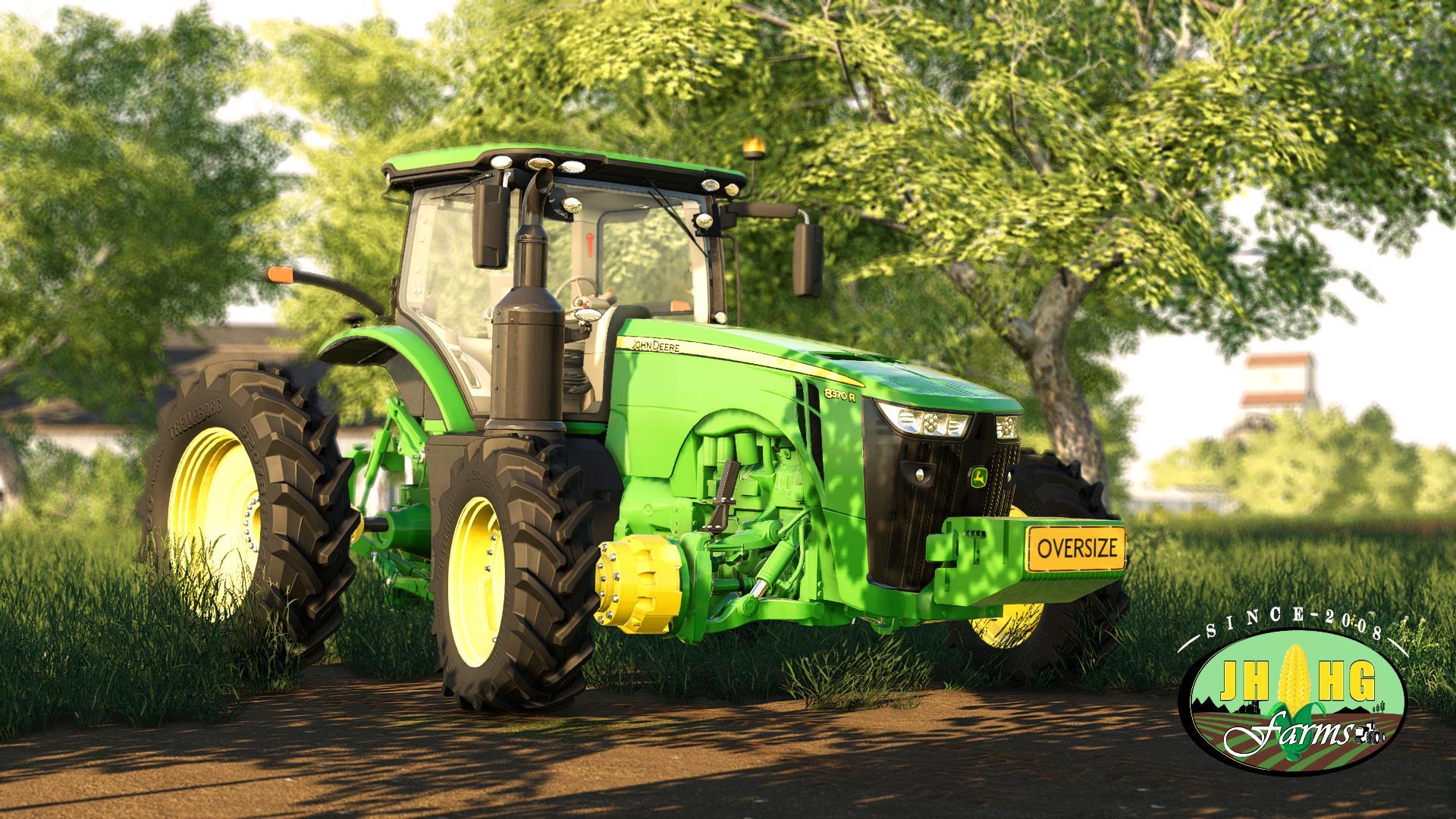 John Deere 8R US Series 2018 v3 1 FS19 - Farming Simulator 19 Mod