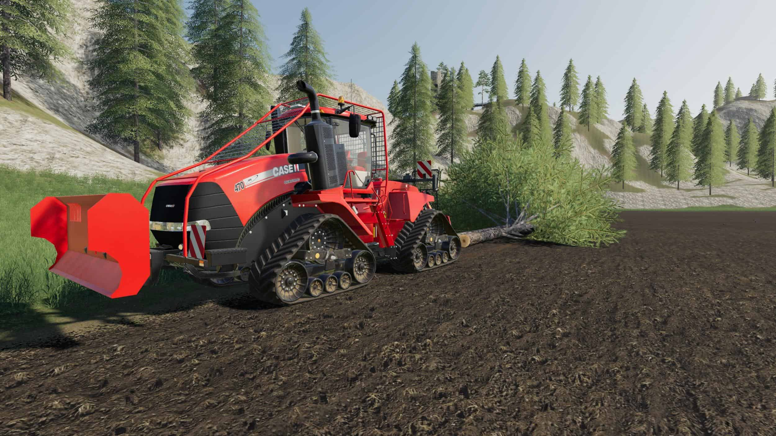 Quadtrac logging series v1 0 0 0 FS19 - Farming Simulator 19