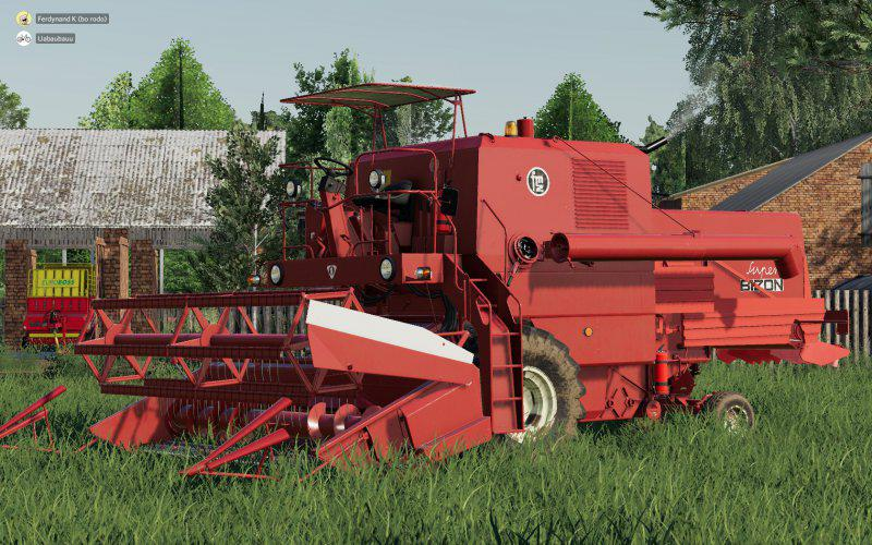 Bizon Old Style v1 0 0 0 FS19 - Farming Simulator 19 Mod   FS19 mod
