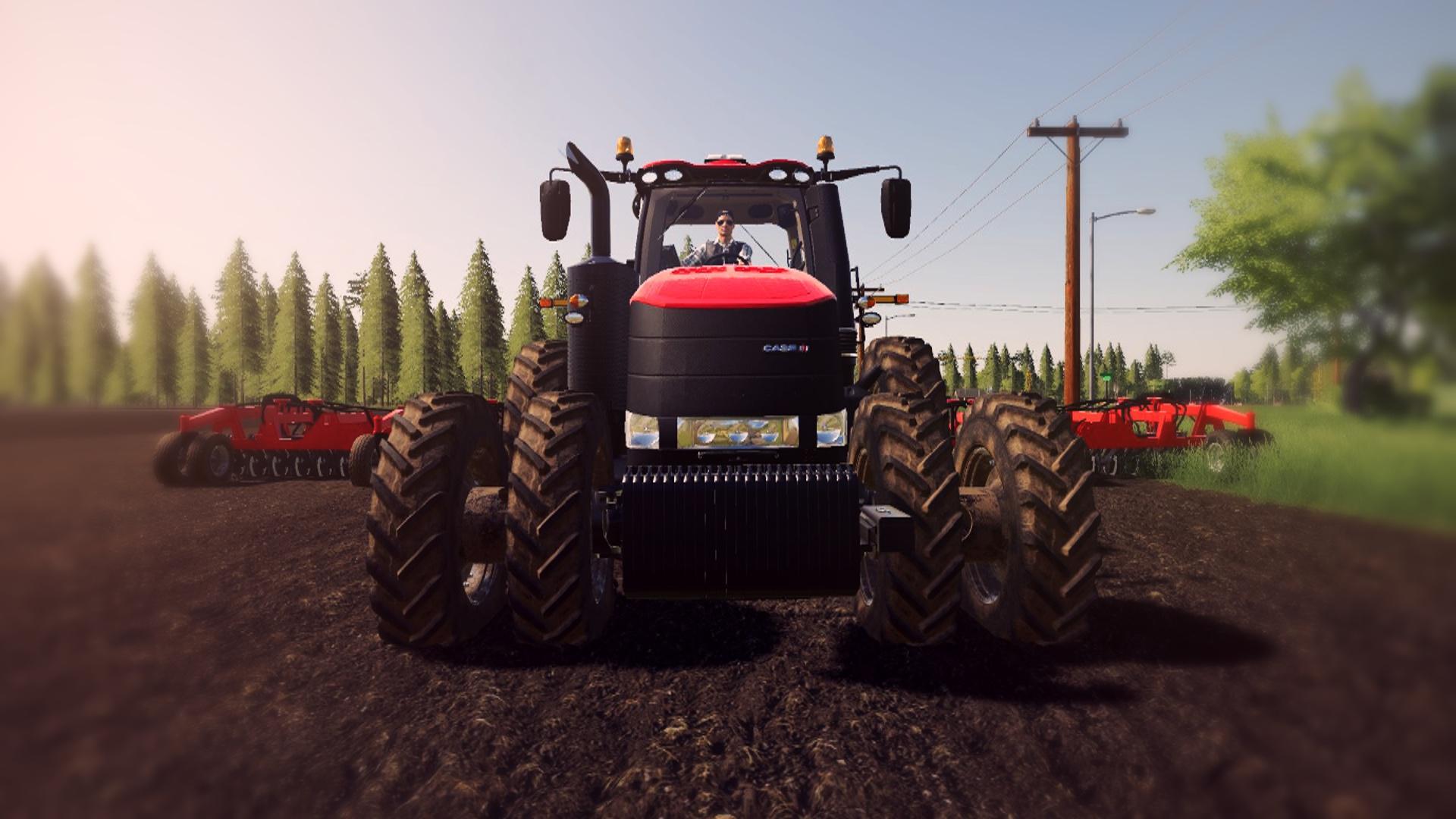 case ih magnum   fs farming simulator  mod fs mod