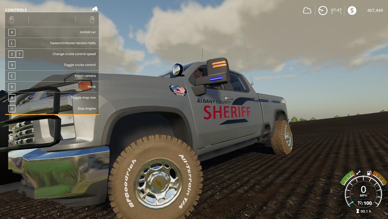 City Service 2020 Silverado v1 0 FS19 - Farming Simulator 19