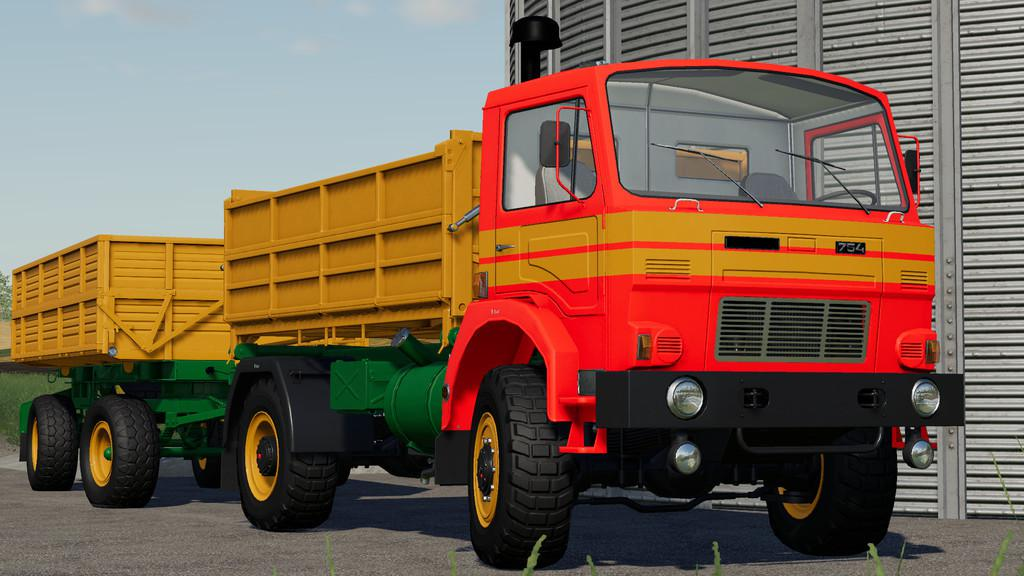 D-754 Truck Pack v1 1 0 0 FS19 - Farming Simulator 19 Mod | FS19 mod