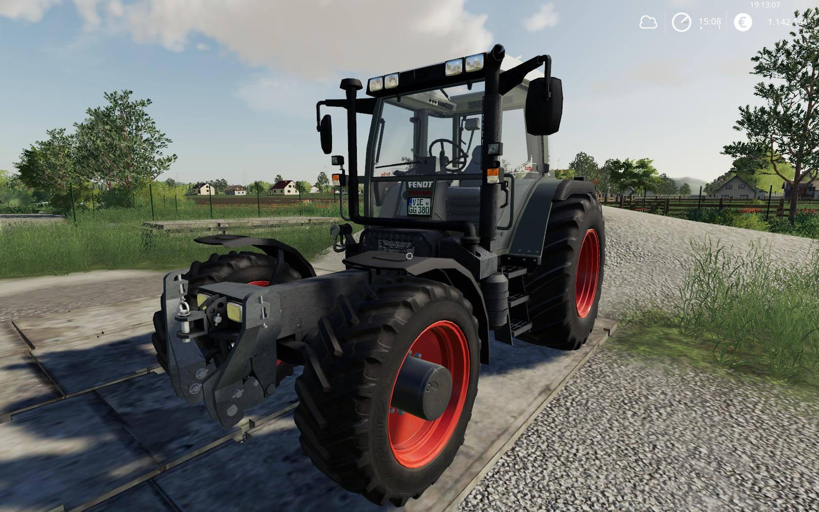Fendt F 380GTA MegaPack v1 0 0 5 FS19 - Farming Simulator 19