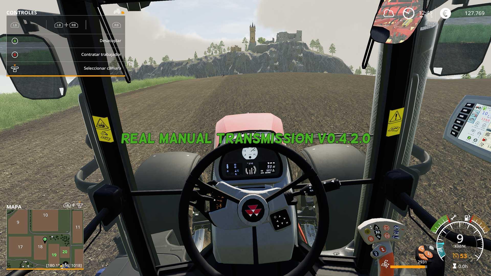 Real Manual Transmission v0 4 2 0 FS19 - Farming Simulator