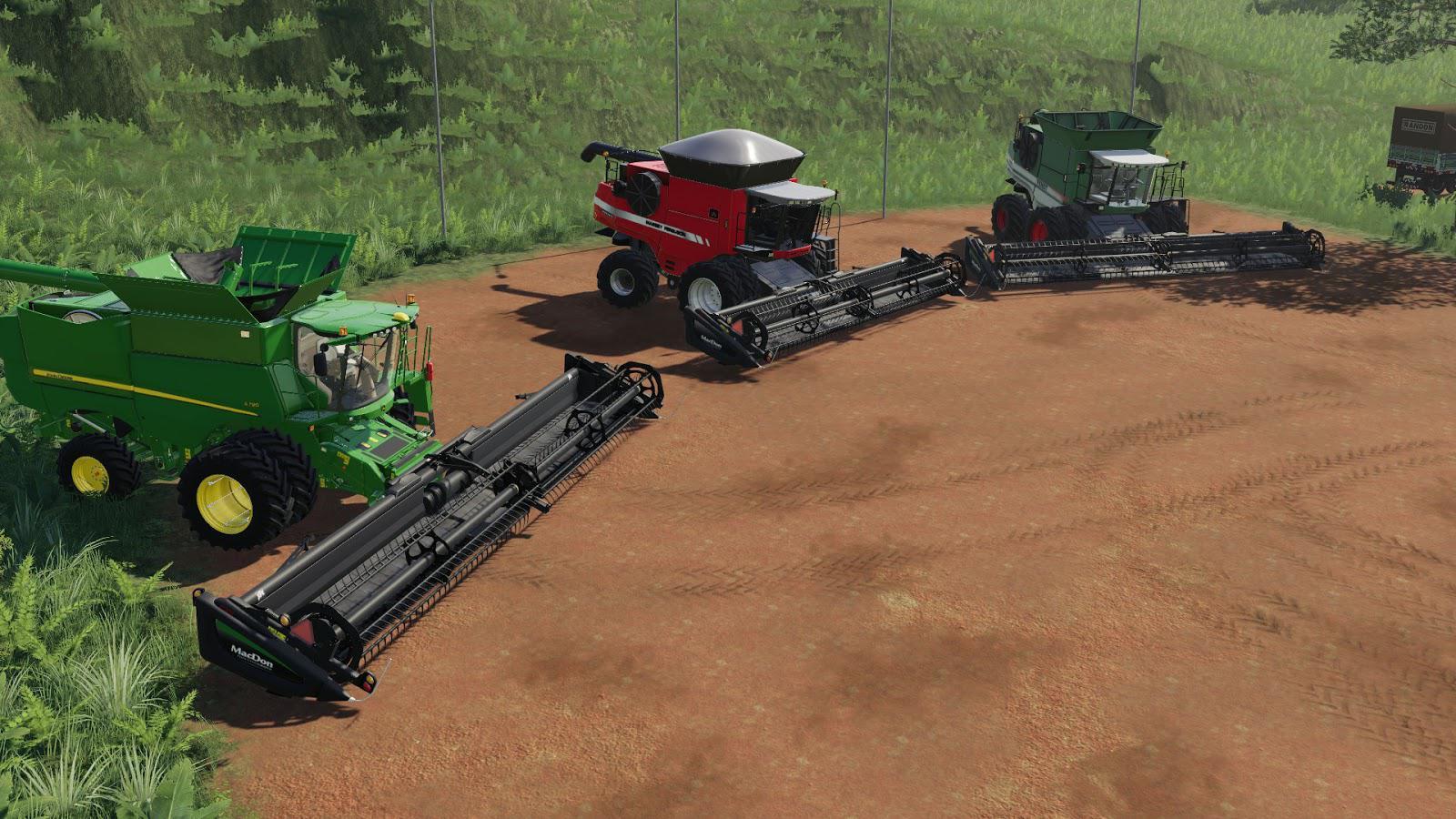 MACDON FD75 - 35, 40, 45 Pes v1 0 FS19 - Farming Simulator