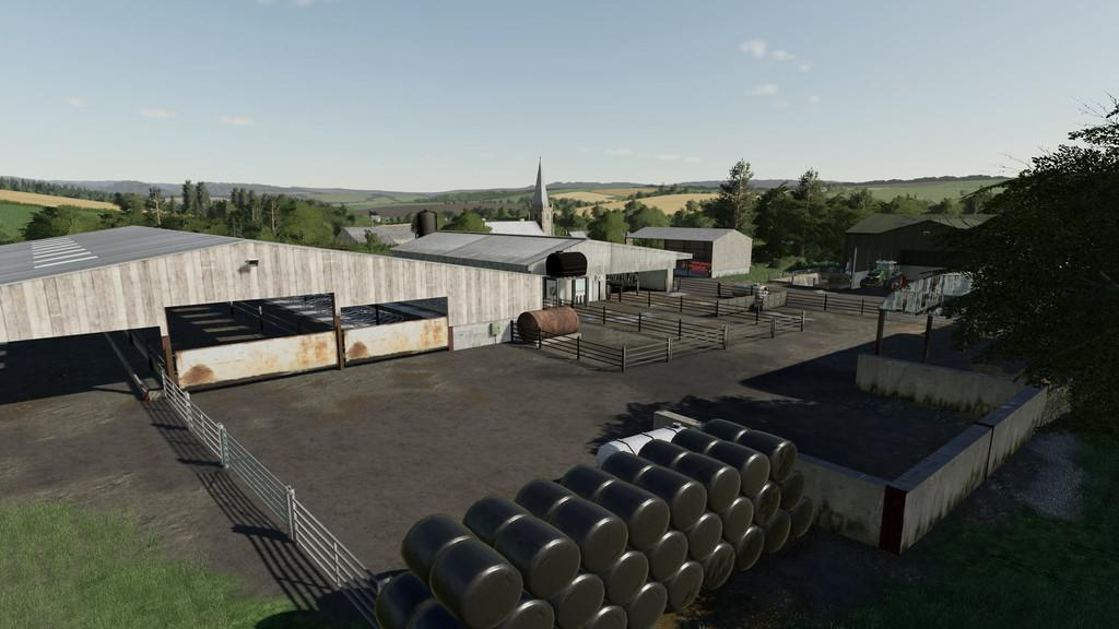 Oakfield Farm 19 v1 0 0 0 FS19 - Farming Simulator 19 Mod