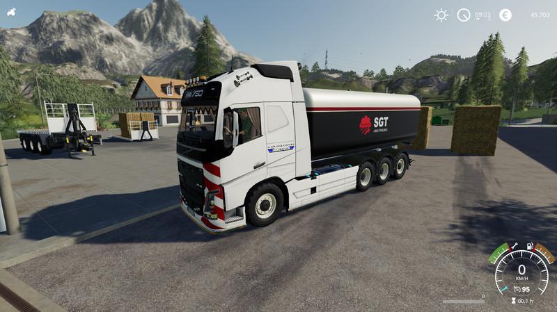 Volvo FH16 truck pack v1 0 0 0 FS19 - Farming Simulator 19 Mod