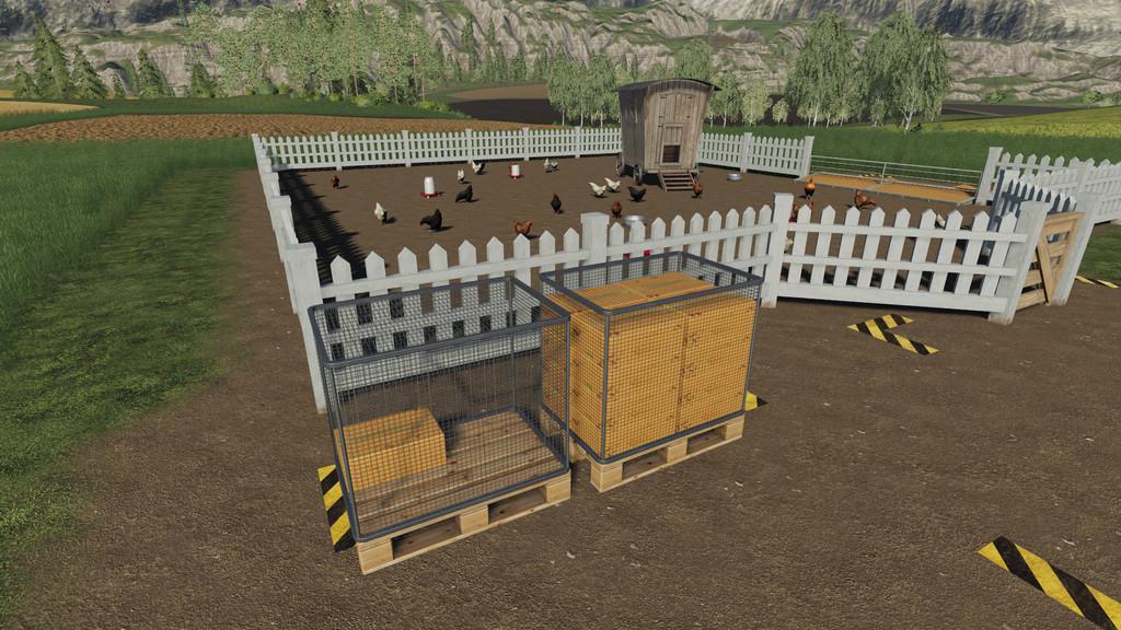 Egg Pallet v1 0 0 0 FS19 - Farming Simulator 19 Mod | FS19 mod