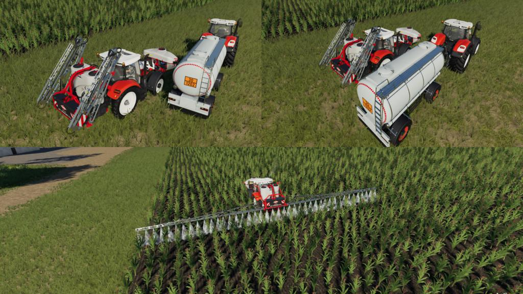 HS 8 Sprayers Support v1 2 0 0 FS19 - Farming Simulator 19