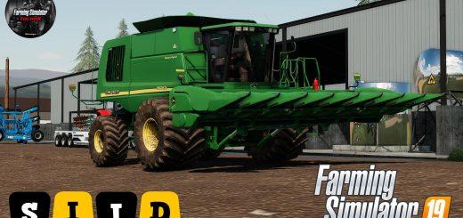 Cotton harvester 200 METER+ V1 0 0 23 FS19 - Farming Simulator 19