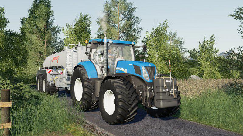 New Holland T7 update v1 0 0 0 FS19 - Farming Simulator 19