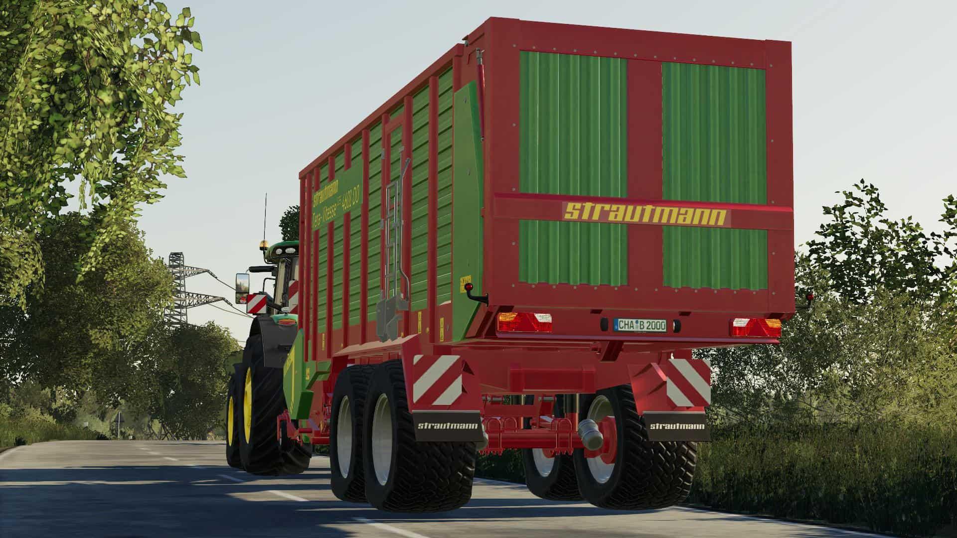 Strautmann Terra Vitesse 4601 v1 0 0 0 FS19 - Farming